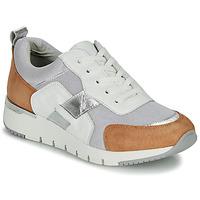 Pantofi Femei Pantofi sport Casual Caprice BEBENE Alb / Camel