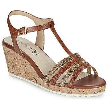 Pantofi Femei Sandale  Caprice POUDALLE Coniac
