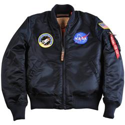 Îmbracaminte Bărbați Jachete Alpha Veste  MA-1 VF NASA noir