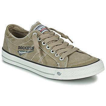 Pantofi Bărbați Pantofi sport Casual Dockers by Gerli 30ST027-450 Kaki