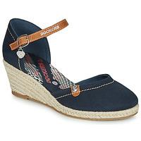 Pantofi Femei Sandale  Dockers by Gerli 36IS210-667 Albastru