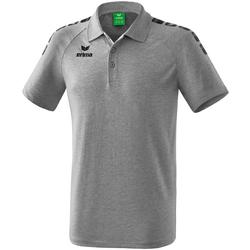 Îmbracaminte Tricou Polo mânecă scurtă Erima Polo  5-C Essential gris