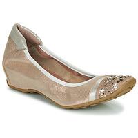 Pantofi Femei Balerin și Balerini cu curea Mam'Zelle FETE Nude