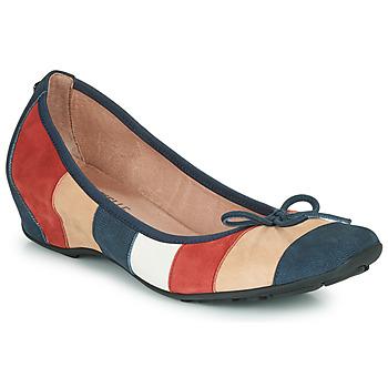 Pantofi Femei Balerin și Balerini cu curea Mam'Zelle FLUTE Albastru / Bej / Bordo