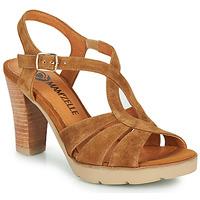 Pantofi Femei Sandale  Mam'Zelle TIMBA Coniac