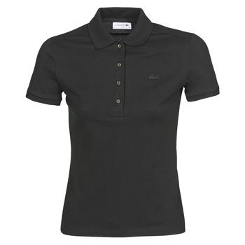 Îmbracaminte Femei Tricou Polo mânecă scurtă Lacoste PH5462 SLIM Negru