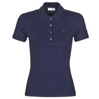 Îmbracaminte Femei Tricou Polo mânecă scurtă Lacoste PH5462 SLIM Albastru