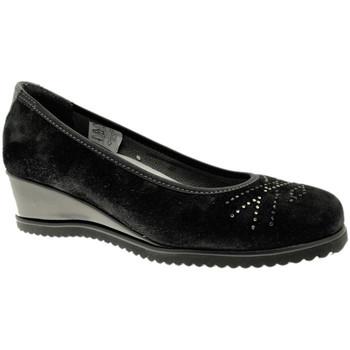 Pantofi Femei Balerin și Balerini cu curea Calzaturificio Loren LOX5905ne nero