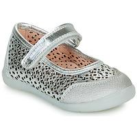 Pantofi Fete Balerin și Balerini cu curea Pablosky  Argintiu