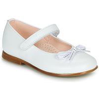 Pantofi Fete Balerin și Balerini cu curea Pablosky  Alb