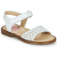 Pantofi Fete Sandale  Pablosky  Alb