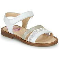 Pantofi Fete Sandale  Pablosky PINNA Alb / Sidef