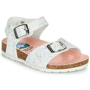 Pantofi Fete Sandale  Pablosky SATTO Alb / Argintiu