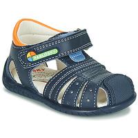 Pantofi Băieți Sandale  Pablosky  Bleumarin / Portocaliu