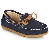 Pantofi Băieți Mocasini Pablosky  Bleumarin / Camel