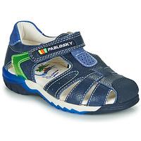 Pantofi Băieți Sandale  Pablosky  Bleumarin / Verde