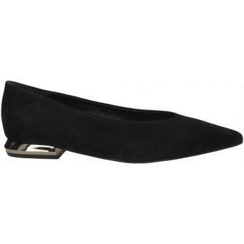 Pantofi Femei Balerin și Balerini cu curea Tosca Blu MARY c99-nero