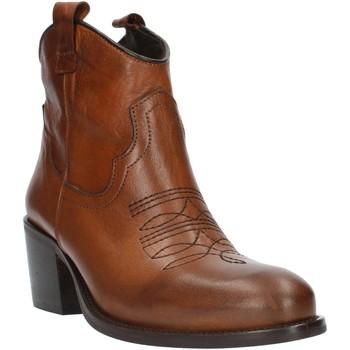 Pantofi Femei Botine Exton MZ40 Leather