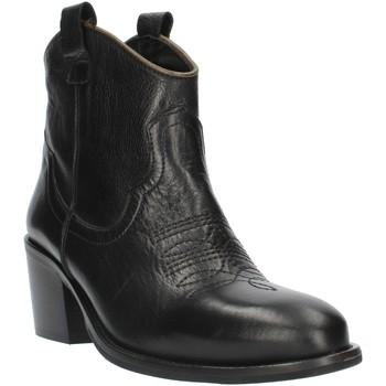 Pantofi Femei Botine Exton MZ40 Black