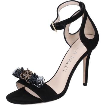 Pantofi Femei Sandale  Lella Baldi Sandale BP10 Negru