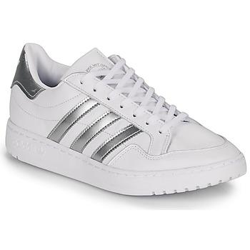 Pantofi Femei Pantofi sport Casual adidas Originals MODERN 80 EUR COURT W Alb / Argintiu