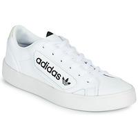 Pantofi Femei Pantofi sport Casual adidas Originals adidas SLEEK W Alb