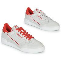 Pantofi Pantofi sport Casual adidas Originals CONTINENTAL 80 Bej / Roșu