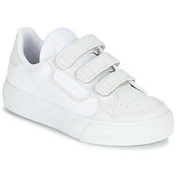 Pantofi Copii Pantofi sport Casual adidas Originals CONTINENTAL VULC CF C Alb / Bej