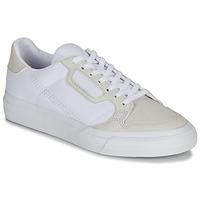Pantofi Copii Pantofi sport Casual adidas Originals CONTINENTAL VULC J Alb / Bej