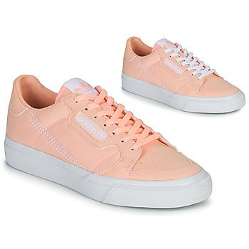 Pantofi Fete Pantofi sport Casual adidas Originals CONTINENTAL VULC J Roz