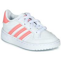 Pantofi Fete Pantofi sport Casual adidas Originals NOVICE EL I Alb / Roz