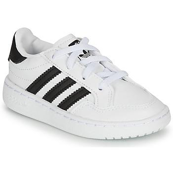 Pantofi Copii Pantofi sport Casual adidas Originals NOVICE EL I Alb / Negru
