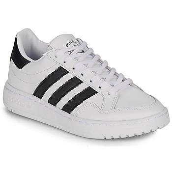 Pantofi Copii Pantofi sport Casual adidas Originals Novice J Alb / Negru
