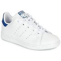 Pantofi Copii Pantofi sport Casual adidas Originals STAN SMITH C Alb / Albastru