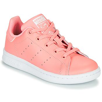 Pantofi Fete Pantofi sport Casual adidas Originals STAN SMITH C Roz