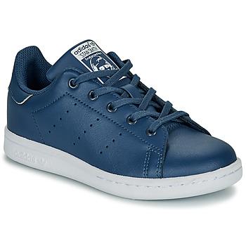 Pantofi Băieți Pantofi sport Casual adidas Originals STAN SMITH C Albastru