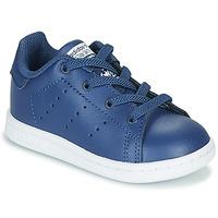 Pantofi Băieți Pantofi sport Casual adidas Originals STAN SMITH EL I Albastru