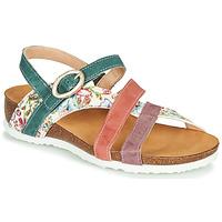Pantofi Femei Sandale  Think JULIA Roșu / Verde / Alb
