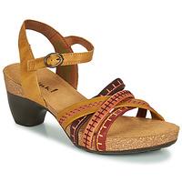 Pantofi Femei Sandale  Think TRAUDI Galben / Roșu