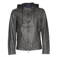 Îmbracaminte Bărbați Jachete din piele și material sintetic Guess VINTAGE ECO-LEATHER JKT Negru