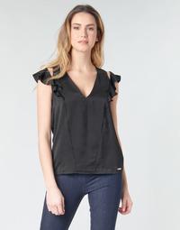 Îmbracaminte Femei Topuri și Bluze Guess SS DAHAB TOP Negru