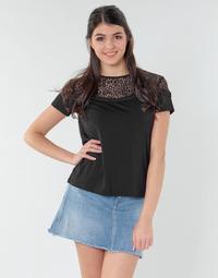 Îmbracaminte Femei Topuri și Bluze Guess ALICIA TOP Negru
