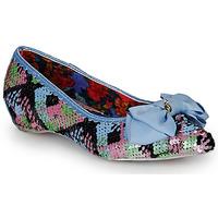 Pantofi Femei Balerin și Balerini cu curea Irregular Choice MINT SLICE Roz / Albastru