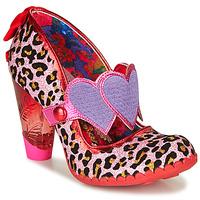 Pantofi Femei Pantofi cu toc Irregular Choice LOCKHART Roșu