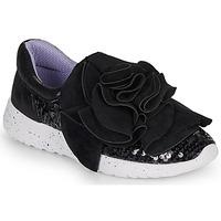 Pantofi Femei Pantofi sport Casual Irregular Choice RAGTIME RUFFLES Negru