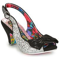 Pantofi Femei Pantofi cu toc Irregular Choice HIYA SYNTH Argintiu / Negru