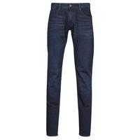 Îmbracaminte Bărbați Jeans slim Le Temps des Cerises 711 JOGG Blue / Black