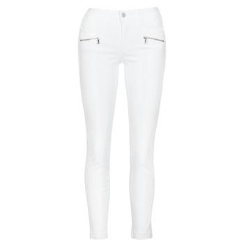 Îmbracaminte Femei Jeans skinny Le Temps des Cerises KIEV SKINY7/8 Alb