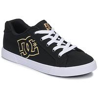 Pantofi Femei Pantofi sport Casual DC Shoes CHELSEA TX Negru / Auriu