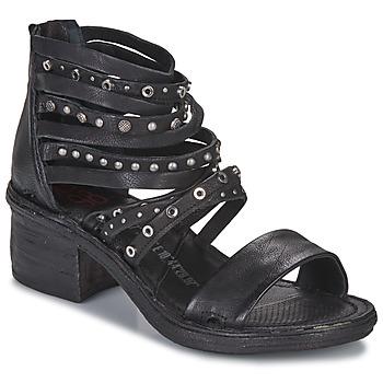 Pantofi Femei Sandale  Airstep / A.S.98 KENYA Negru